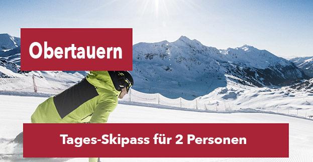 Obertauern Tages-Skipass für 2 Personen-©Obertauern