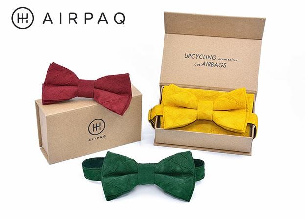 Airpaq Fliege und Einstecktuch