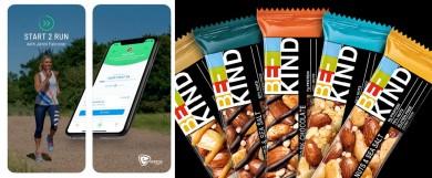 Start 2 Run App / BE-KIND Protein-Riegel -