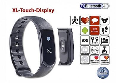 Newgen medicals Fitness-Armband m. XL-Touch-Display