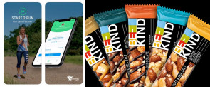 Start 2 Run App / BE-KIND Protein-Riegel -