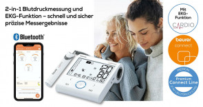 BM 96 Cardio - Blutdruckmessgerät mit EKG-Funktion - ©beurer