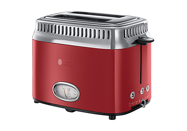 Retro Ribbon Red Toaster von Russell Hobbs-©Russell Hobbs