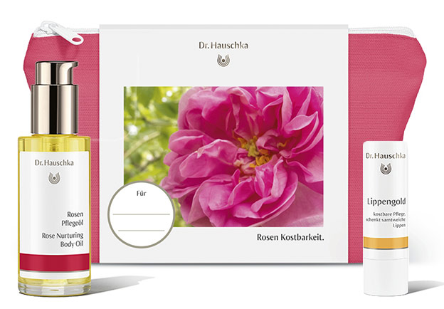 Dr. Hauschka Geschenkset Rosen Kostbarkeit-©Hauschka