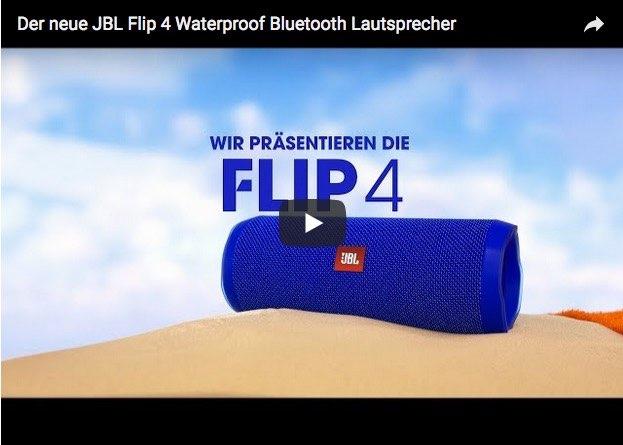 JBL Flip 4 mobiler Bluetooth-Lautsprecher-©JBL