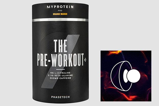 THE Pre-Workout+ von MYPROTEIN-MYPROTEIN