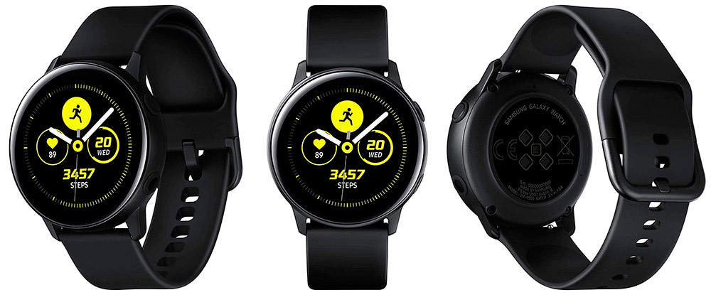 Samsung Galaxy Watch Active, Schwarz-©Samsung