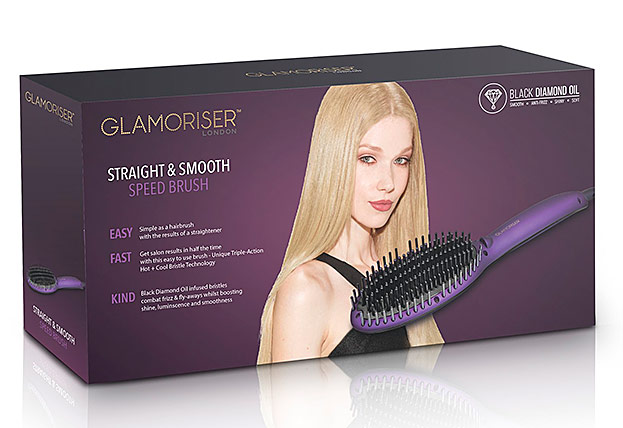 Straight & Smooth Speed Brush von Glamoriser-©SalonEurope