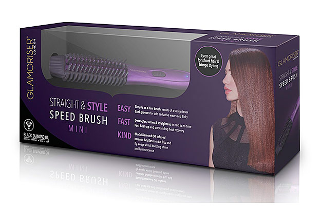 Straight & Style Speed Brush Mini von Glamoriser-©SalonEurope