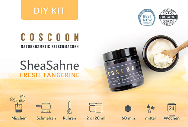 SheaSahne - Fresh Tangerine DIY-Kit-©Coscoon