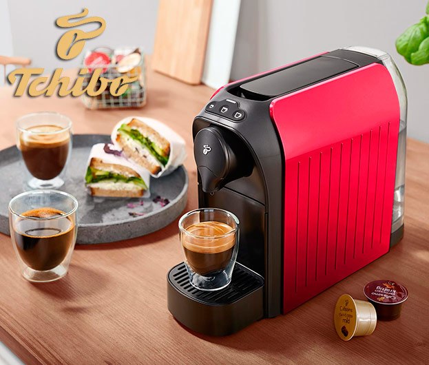 Espressomaschine Cafissimo easy Red & Black-©Tchibo