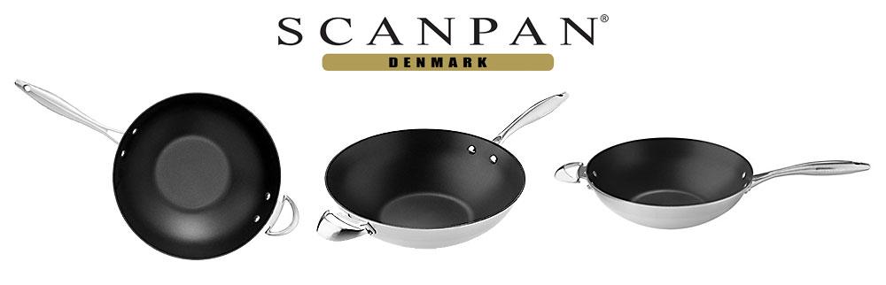 SCANPAN CTX Wok 32 cm-©SCANPAN