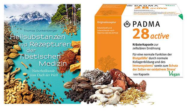 PADMA 28 active & Buch-©Wildpferd / PADMA