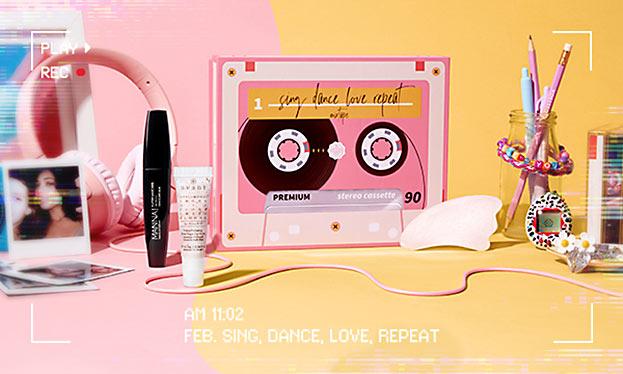 GlossyBox - Sing Dance Love Repeat-©Beauty Trend GmbH