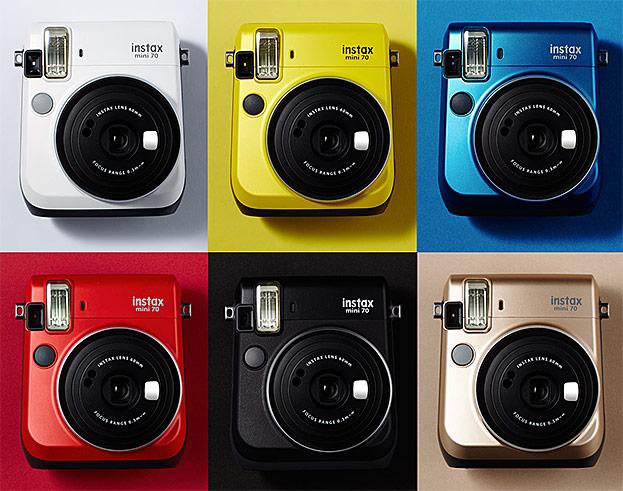 Fujifilm instax mini 70-©Fujifilm