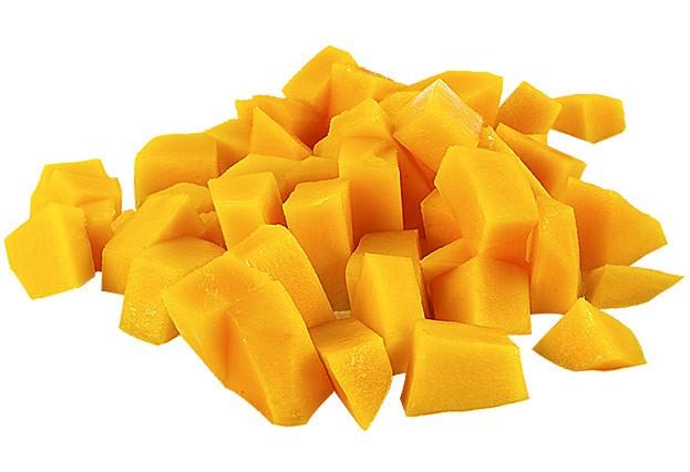 Mango aufgeschnitten