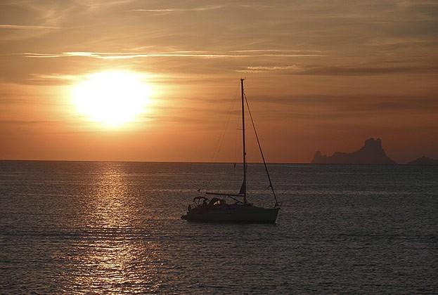 Sonnenuntergang auf Formender