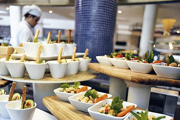 Vegetarische Snacks im TUI Blue Palm Garden