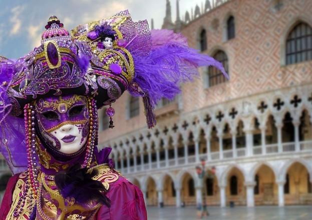 Weltbekannt: Carneval in Venedig