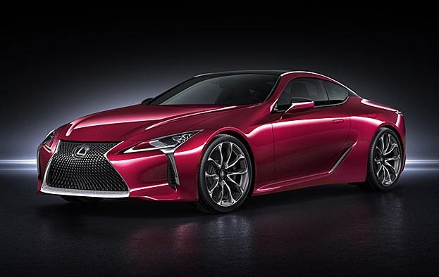 Lexus LC ist das schönste neue Serienauto