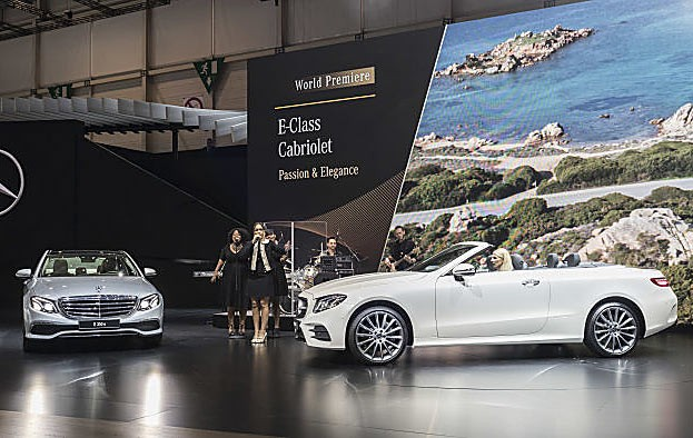 Das neue E-Klasse Cabriole