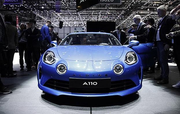 Alpine 110: Wendig, kompakt, schnell