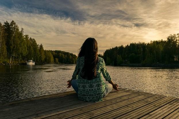 Yoga in freier Natur