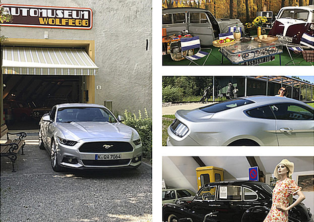 Automuseum Wolfegg mit Mustang