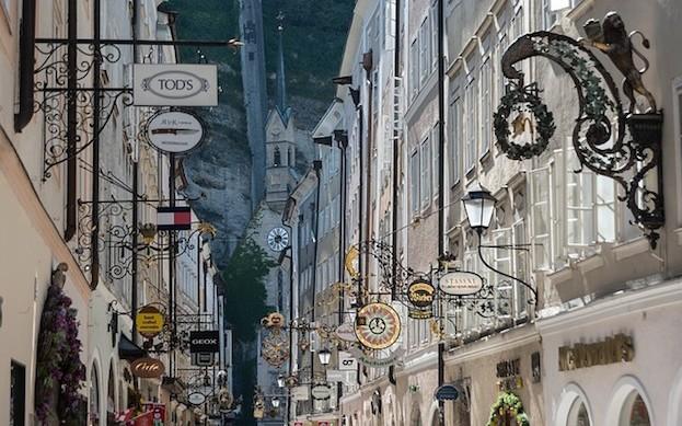 Salzburg - Getreidegasse