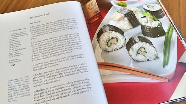 Rezept für Weißwurst-Sushi
