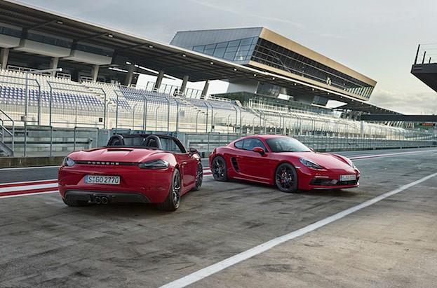 Die neuen Porsche 718 GTS-Modelle