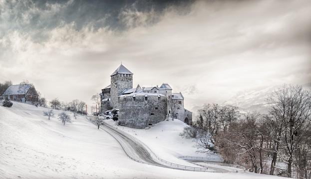 Fürstliches Schloss in Vaduz (Liechtenstein)