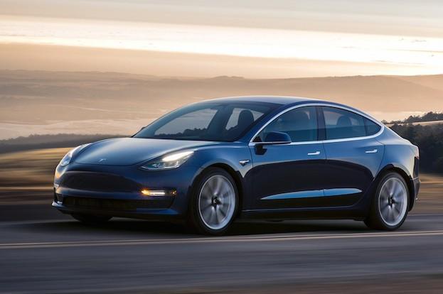 Modell 3 von Tesla