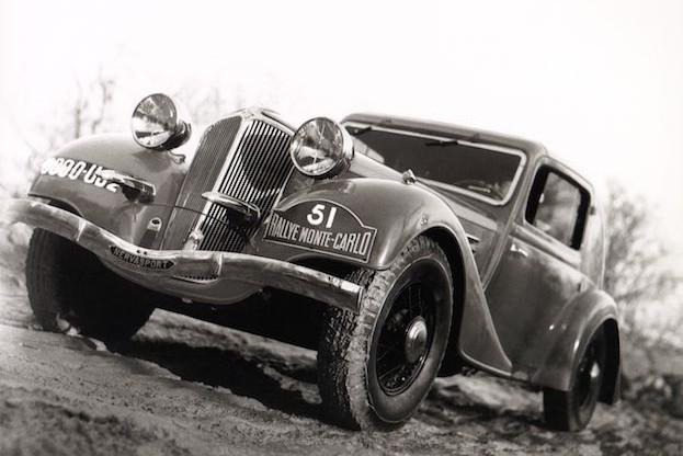 Nervasport, Historie, Rallye Monte Carlo, Sieger, 1935