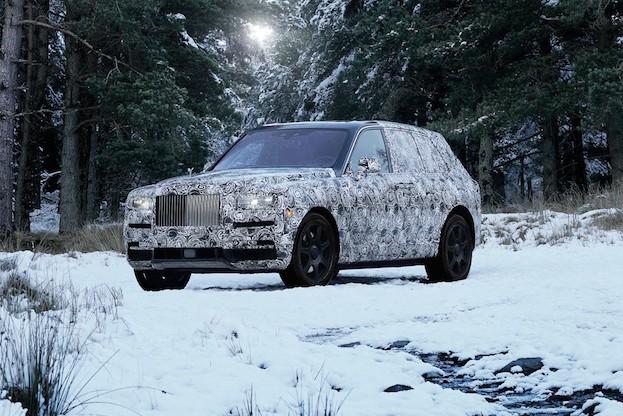 Getarnter Rolls-Royce Cullinan