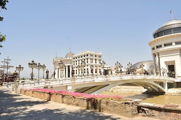 Skopje - Hauptstadt von Mazedonien