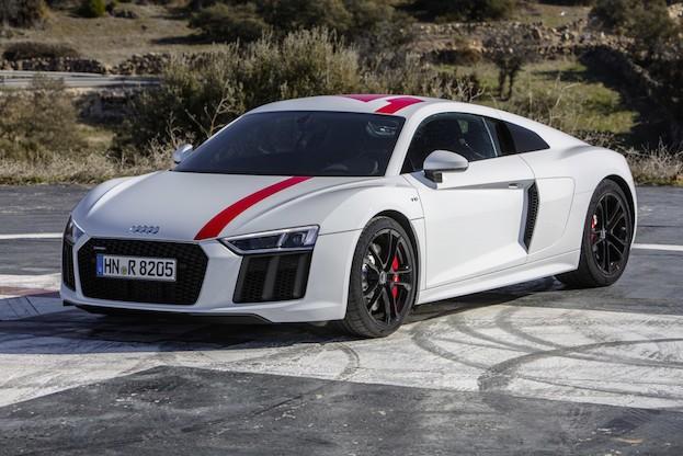 Der neue Audi R8 RWS