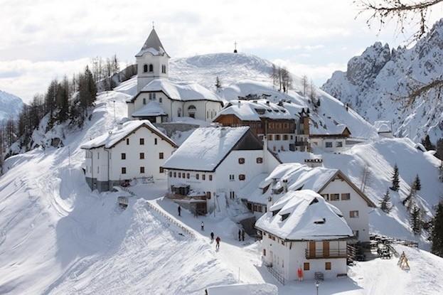 Tiefer Winter in  Friaul-JulischVenetien