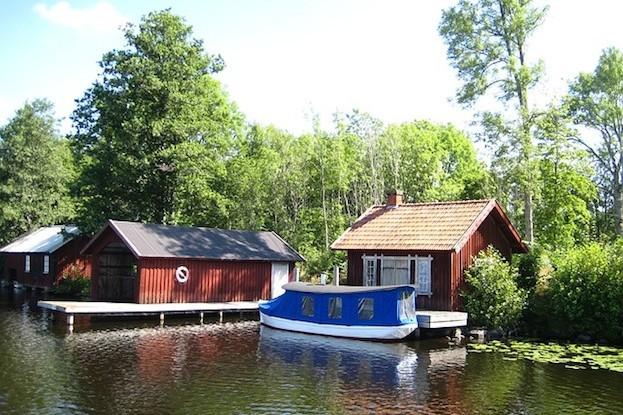 Am romantischen Göta-Kanal