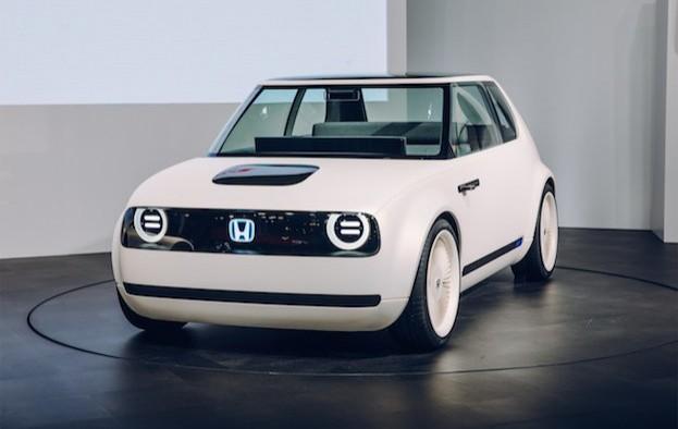 Honda Urban EV - viersitziger Elektro-Stadtflitzer