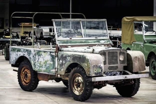 Unrestaurierter Land Rover Serie 1