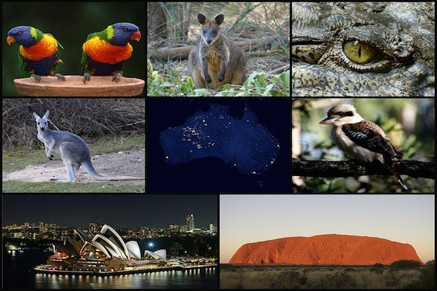 Willkommen in Australia