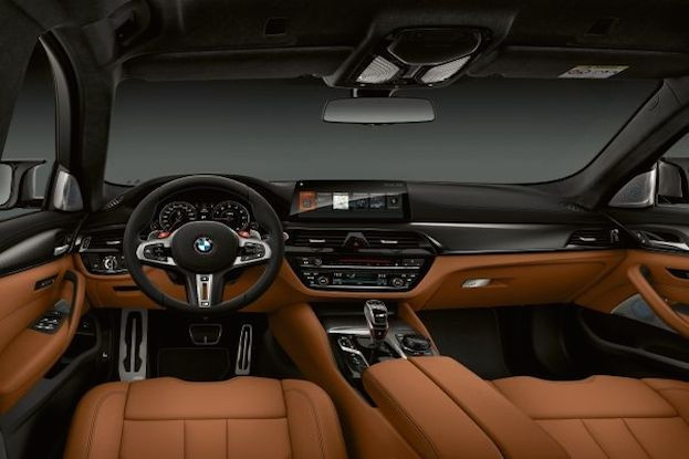 Innenleben es neuen BMW M5 Competition