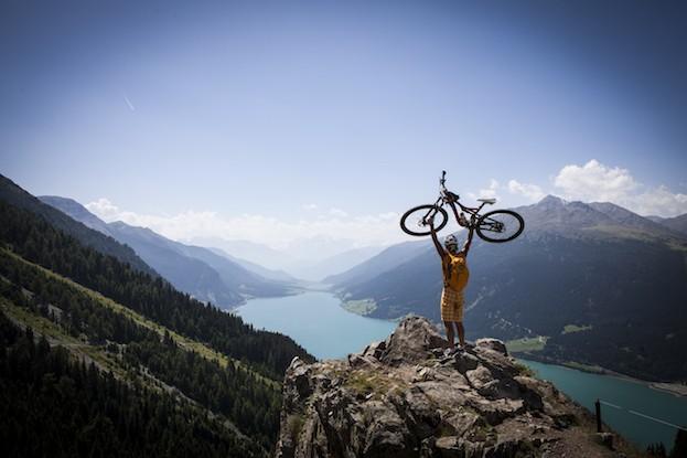 Die Biketour über die Hochebene Plamort ist nicht besonders schwer