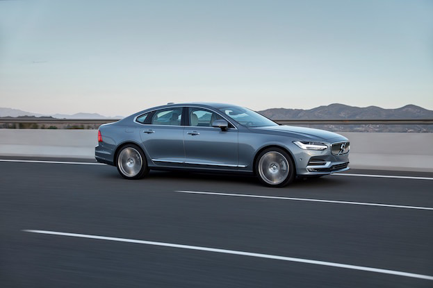 Volvo S90: Fahrkultur auf höchstem Niveau