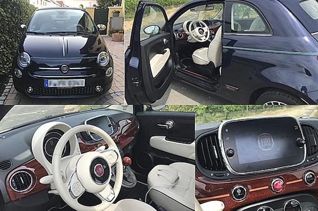 Fiat 500C Riva - cooles Kultauto