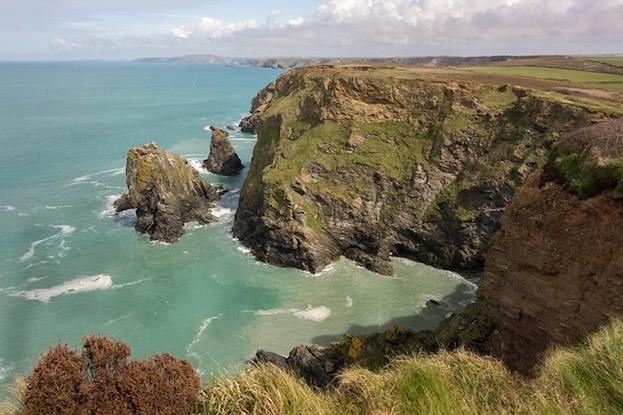 Die Küste in Cornwall