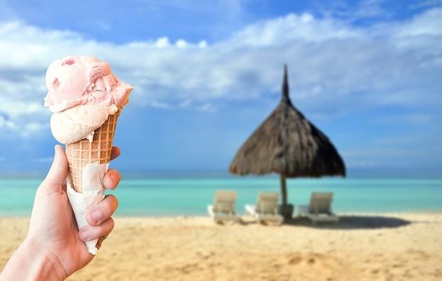 Eis im Urlaub - Vorsicht ist geboten