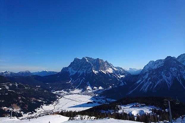 Tiroler Zugspitzmassiv