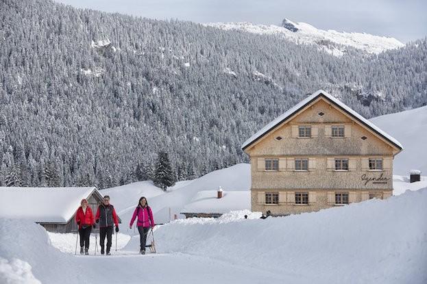 Wandern und kulinarische Genüsse erleben - kann man alles im Bregenzerwald